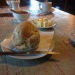 Pan casero del desayuno, excelente