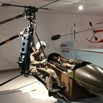 Early single man copter