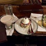 drinks and dessert