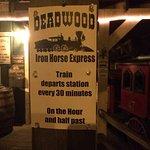 Night photos of Deadwood