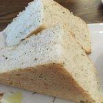 The focaccia bread was as light as air!