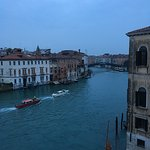View of the Accademia Bridge from the room