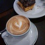 Mr.Baker Café com Leite,Bolo de Cenoura