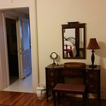 Step back in time surrounded by antique furnishings