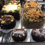 Full sized cakes.