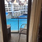 Double Queen Room - pool view.
