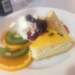 passion fruit cheesecake 5*