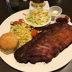 1/2 ribs plate with 2 sides