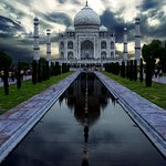 The Taj itself