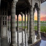 Taj Mahal taken from Jahangir's Hauz