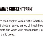 """Chicken Parm on a bed of """"Linguini""""?"""