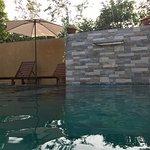 Madunandani Ayurveda swimming pool