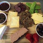 100 Mile Platter – all local regional produce.