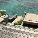 The beautiful Laamu Water Villa with pool - just stunning!