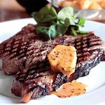 T Bone Steak with Café de Paris Butter