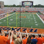 Memorial Stadium University of Illinois at Urbana-Champaign UIUC Fighting Illini Football