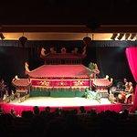 Golden Dragon Water Puppet Theater Foto