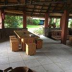 Le salon du Chitimba camp