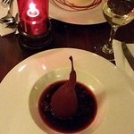 Poached Pears & Vanilla Pannacotta ( lounge menu)