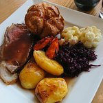 Fabulous Sunday lunch! Simply divine!