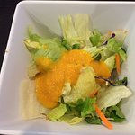 salad with a sweet ginger citrus flavor