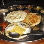 Gujrathi Thali