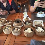 Dim sum after morning run. Always my favourite. Place for breakfast lunch and also dinner. Nice