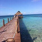 The pier. Snorkelling is great on the right side of this pier.