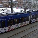 Straßenbahn, toll für Eisenbahnfans
