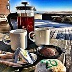 Bilde fra The Cafe at Attrup Harbour