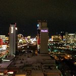 View of the other towers and the Strip from our room