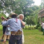 Enjoying a dance with a Gaucho