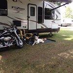camp at Glenco