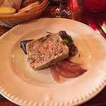 Wild Mushroom Pâté  Breast Chicken with wild mushroom sauce  Pork tenderloin with Calvados sauce