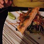 Fab salmon and salad