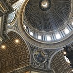 The Dome in St. Peter's Basilica