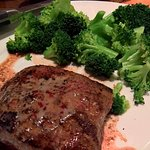 Flat Iron Steak and Broccoli