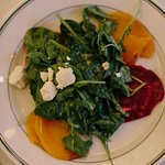 """Spinach and Pickled Beet Salad-""""Farm-to-Table"""""""