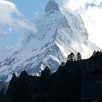 Glück gehabt! Blick aufs Matterhorn