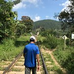 Der Weg zum Bahnhof (ca. 5 Min.)