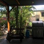 Cabana / grill area