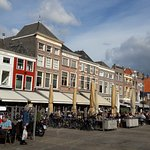 The market square in Delft