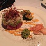 Tuna appetizer