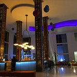 Lobby bar, in the evening, great atmosphere.