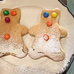 Little Bear pancakes for my little Bear.