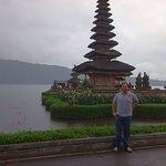 Amazing temple at the Beratan lakeshore, take time to walk around!