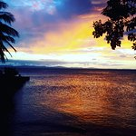 A sunset view on Ometepe