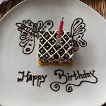 breakfast birthday cake!