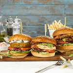 Mouthwatering burgers