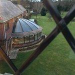 Room overlooked the grounds (spa / indoor pool solarium, outdoor pool)